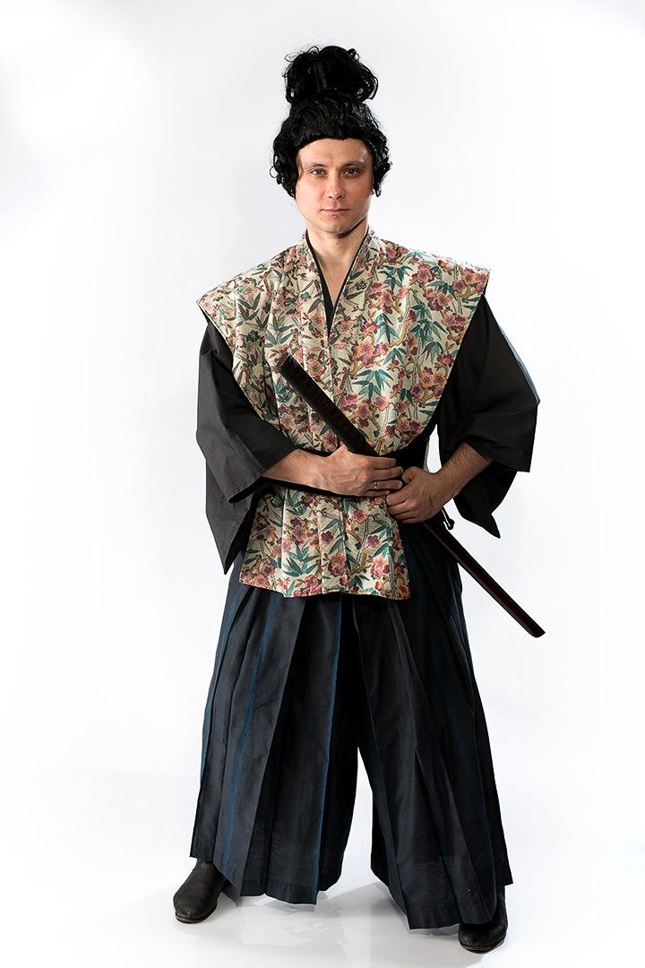Японец Японцы В Кимоно